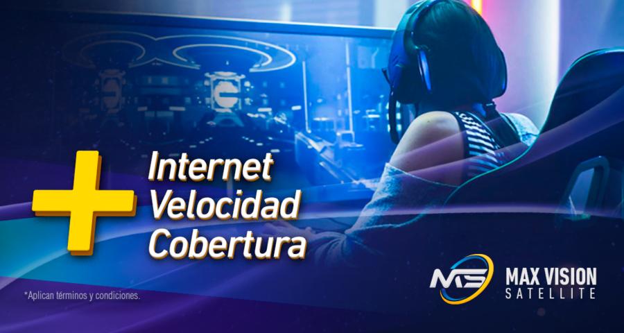 Internet, velocidad y cobertura