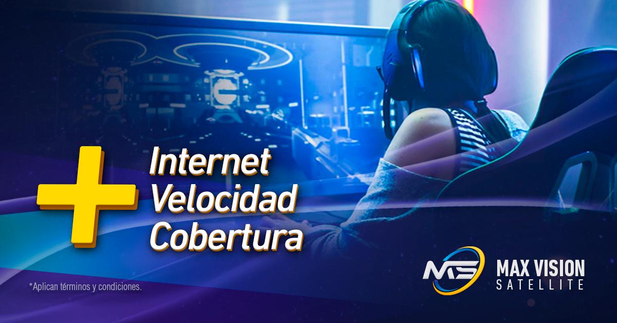 Internet Velocidad cobertura